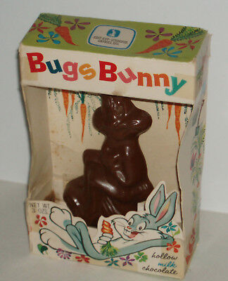 1970's Bugs Bunny Choclate Easter candy sample