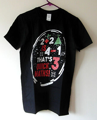 Big Shaq Activewear Christmas Theme T-Shirt 2+2 IS 4-1 THAT'S 3 Quick