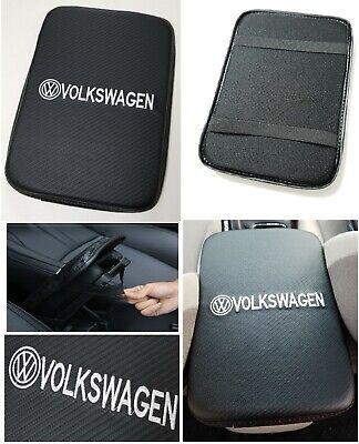 VOLKSWAGEN Carbon Fiber Car Center Console Armrest Cushion Mat Pad Cover  (Carbon Fiber Standard Cover)