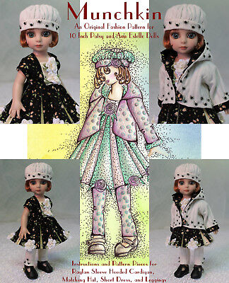 """Munchkin"" Fashion Pattern for 10 Inch Tonner  Ann Estelle and Patsy"