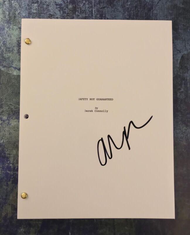 GFA Safety Not Guaranteed * AUBREY PLAZA * Signed Full Movie Script AD1 COA