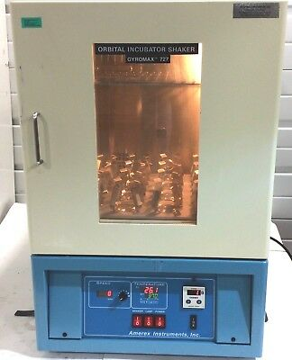Amerex Instruments Gyromax Sk-727 Digital Heated Orbital Incubator Shaker