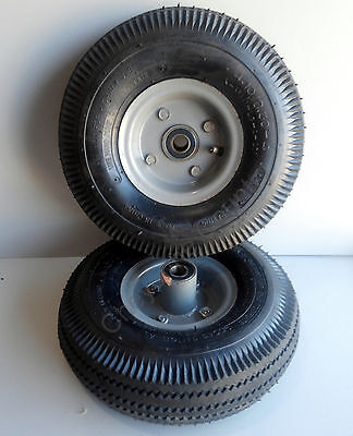 2 Lot 4.103.50-4 Hand Truck Air Tire With Innertube Offset Split Hub 58 Id