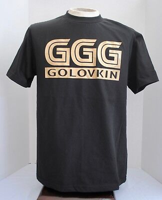 Ggg T Shirt Mens Tee Gennady Golovkin Canelo Boxing Fight Tee Black