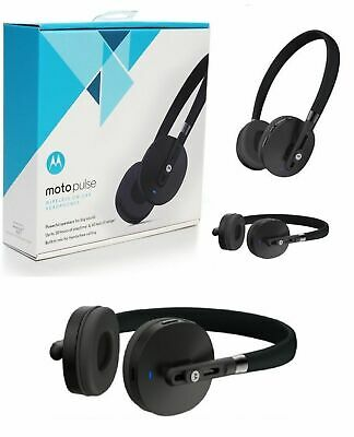 Original Motorola Moto Pulse Wireless Bluetooth On Ear Headphones