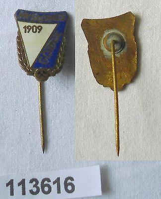 emaillierte Anstecknadel Myslowice Gornik 1909 Bergbau (113616)