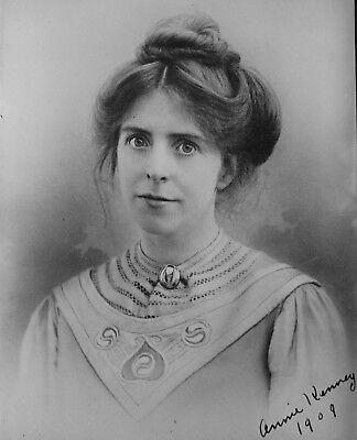 Suffragette Annie Kenney 1909 6x5 Inch Reprint Photo