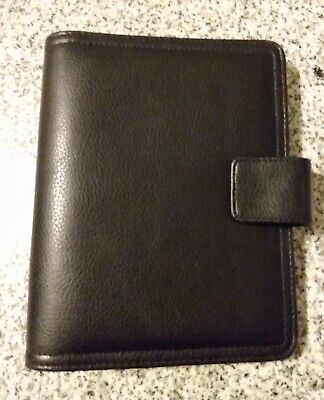 Franklin Covey 365 Compact Black 6 Ring Planner Binder Organizer Monthlyweekly