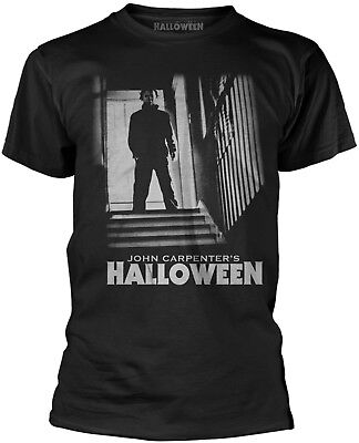 Halloween Movie Merchandise (HALLOWEEN Michael Myers Stairs T-SHIRT OFFICIAL)