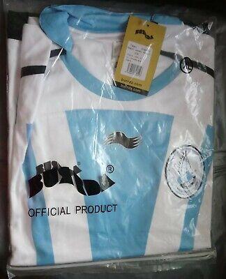 AL - WAKRAH FOOTBALL SPORT CLUB QATAR 2009 AWAY SHIRT BURRDA XL BRAND NEW BNIP  image
