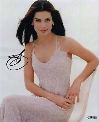 Sandra Bullock Actress 8x10 Hand-Signed TTM Signed Photo COA