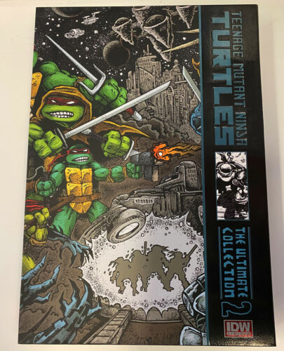 IDW: TMNT: THE ULTIMATE COLLECTION VOL. 2: LIMITED EDITION: BRAND NEW COND: #207