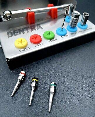 Dental Implant Bone Remover Kit Screws Hex Drill Drivers Wrench 4.0 Ce 8 Pcs