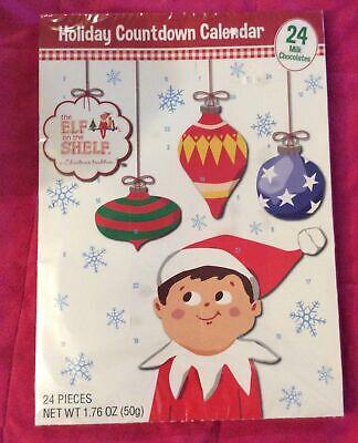 ELF on the SHELF Chocolate Christmas Countdown Calendar 24 Days. Exp July 2021