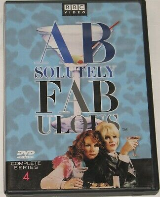 BBC Absolutely Fabulous Complete Series 4 2-Disc Set DVD Comedy Free Shipping