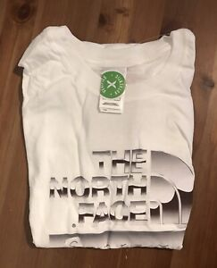 Supreme North Face Collab Men's Medium White T-Shirt