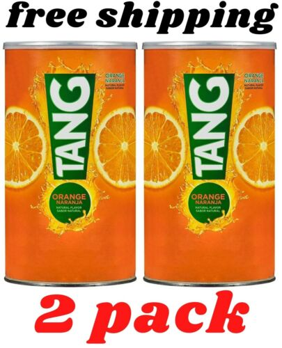 Pack of 2 Tang Drink Powder, Orange (72 oz.)