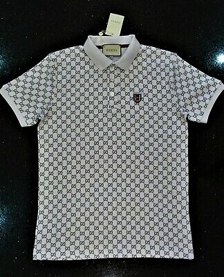 Gucci men's polo shirt/ White/ brand new/ size XL