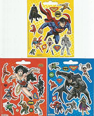 Justice League Mini Scrapbook Sticker Sheets - Mini Scrapbook