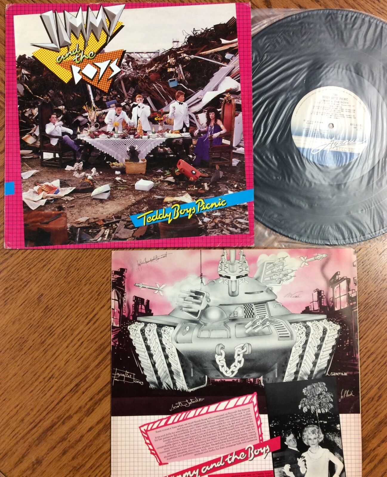 Jimmy And The Boys -Teddy Boys Picnic, Australian Avenue Records RML-53005 - $9.99