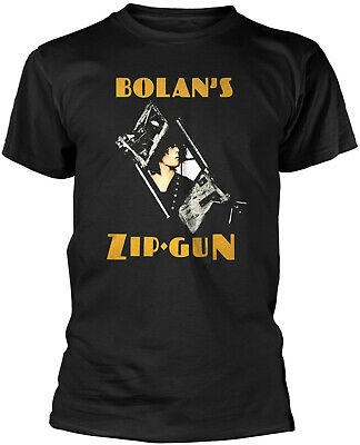 T.REX MARC BOLAN Bolan's Zip Gun T-SHIRT OFFICIAL MERCHANDISE (T-rex Merchandise)