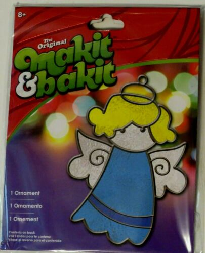 "Holiday Makit & Bakit Suncatcher Kit 5"" Angel  Age 8+"