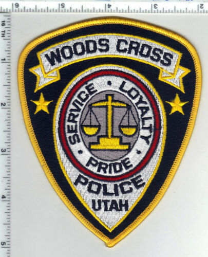 Woods Cross Police (Utah) Shoulder Patch - in use until 2015