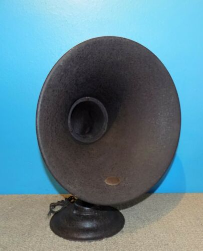 Atwater Kent Model L Antique Horn Radio Speaker Works Free Shipping