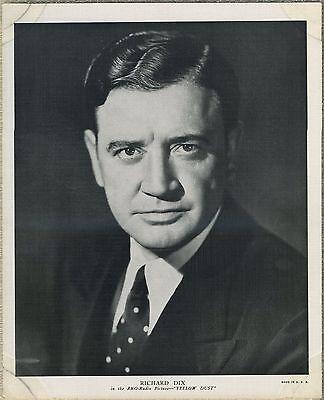 Richard Dix 1936 R95 8x10 Linen Textured Premium Photo - YELLOW DUST