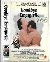 Goodbye Emanuelle (1985) Vhs Ex Noleggio -  - ebay.it
