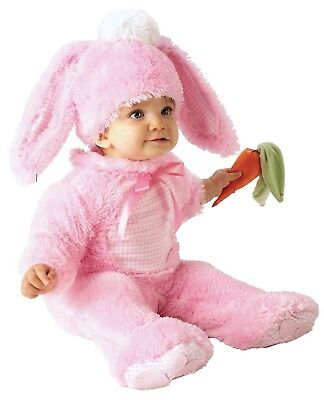 Precious Pink Wabbit - Bunny Rabbit - Peter Cotton Tail - Infant Easter Costume - Baby Rabbit Costume