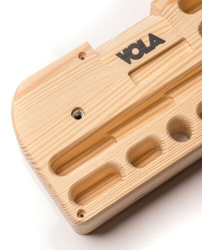 VOLA Hangboard, Training board, Wooden Hangboard, Fingerboard, Climbing, Boulder