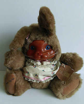 Robert Raikes Originals Bunny Rabbit Ashley With Tags Wood Faces