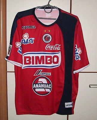 TIBURONES ROJOS DE VERACRUZ 2004-2005 HOME FOOTBALL SHIRT JERSEY CAMISETA MAGLIA image