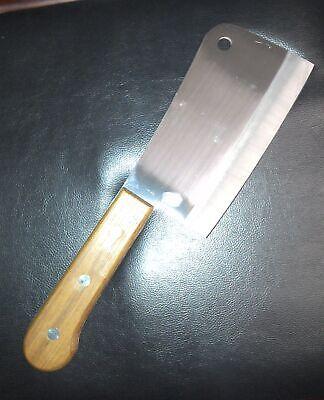 Metzgerbeil Holzgriff Hackbeil Hackmesser Fleischerbeil Küchenbeil aus Auflösung
