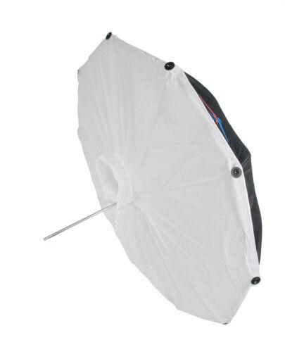 "60"" Photo Studio Silver/White Umbrella Softbox Type Front Diffuser 10 Panels"