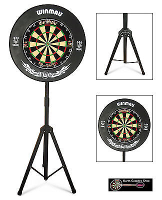 The Darts Caddy Kit, Portable Dartboard Stand For The Serious Darts Player