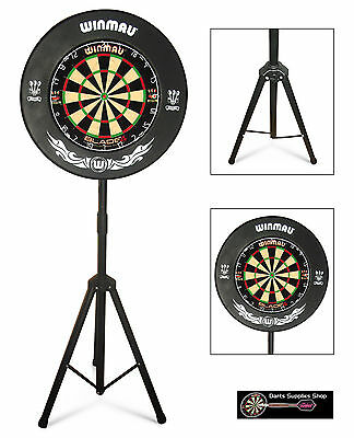 The Darts Caddy, Portable Dartboard Stand for the Serious Darts Player
