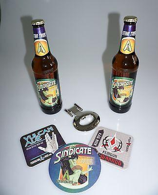 Star Trek Bier - Sindicate Lager offizielles Geschenkset 6teilig limited Edition
