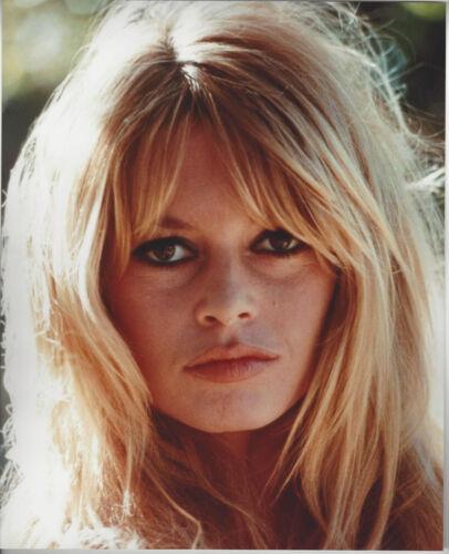 Beautiful Actress Bridget Bardot    8x10 color close up  photo