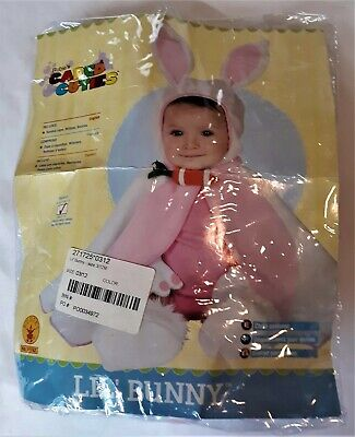 Adorable Lil Bunny Infant Rubie's Costume Cape with Bunny Ears 3-12 Months](Bunny Baby Costume)
