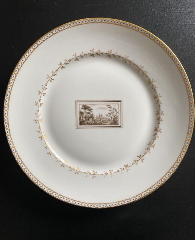 Richard Ginori Fiesole Fine Porcelain Dinner Plates- Lot of 9