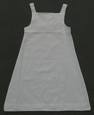 BUMBLE GIRLS SOLID WHITE A-LINE SLEEVELESS SHIFT DRESS BOUTIQUE CLOSE OUT NEW Closeout Shift