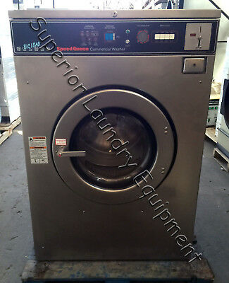 Speed Queen Sc60md2 Washer-extractor 60lb Coin 220v 3ph Reconditioned