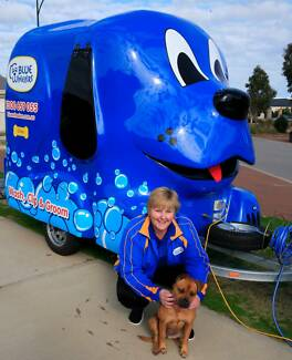 Blue Wheelers  Mobile Dog Grooming  - New Business Opportunity