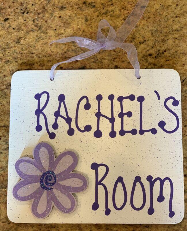 Door/Wall Name Decor—Rachel