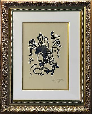 "MARC CHAGALL ""POEMES: GRAVURES V"" 1968 