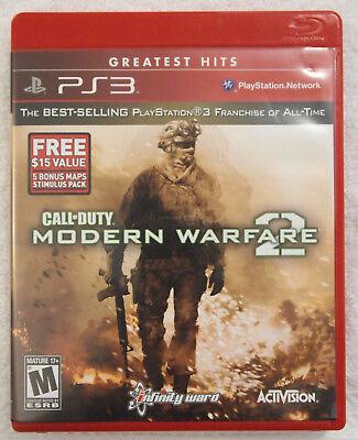 Call of Duty Modern Warfare 2 Video Game Playstation 3 PS3 comprar usado  Enviando para Brazil