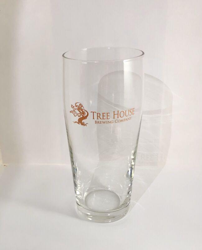 "Tree House Brewing 6.5"" Rastal Willi Becher Glass New Word Logo ORANGE! GIFT!!"
