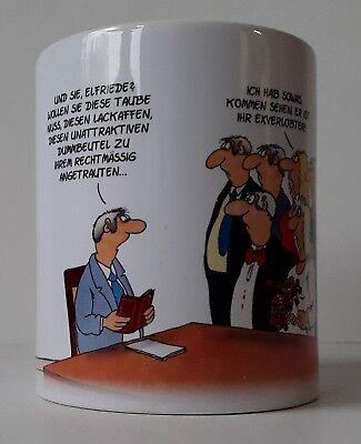 ULI STEIN Porzellan Tasse Henkeltasse Henkelbecher - Hochzeit - Neu
